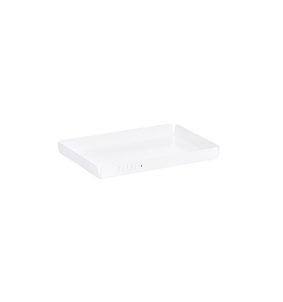 누어 스틸 트레이 NUR Steel Tray Small White