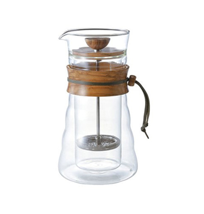 하리오 더블 글래스 커피 프레스 Hario Double Glass Coffee Press 400ml - Used Stuff