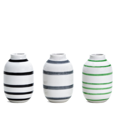 Kahler Omaggio Miniature Vase 3-pack mix3 케흘러 오마지오 베이스