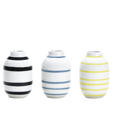 Kahler Omaggio Miniature Vase 3-pack mix1 케흘러 오마지오 베이스