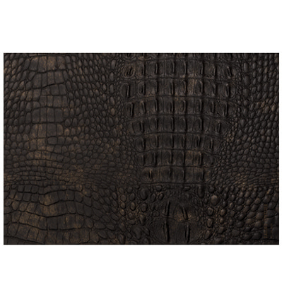 Eating Couture Paper Table Mat  (Leather 악어가죽, Brown 20장) 이팅쿠투어 테이블매트