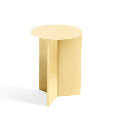 헤이 슬릿테이블 하이 HAY Slit Table High, Light yellow