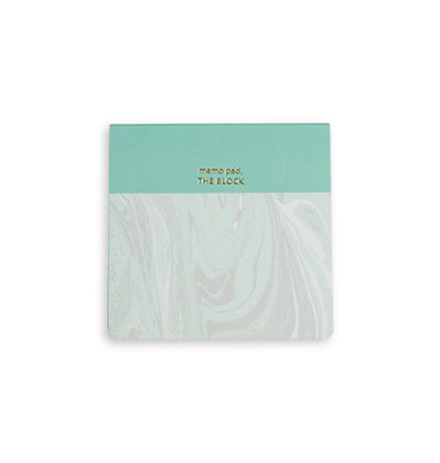 Abletime Memo Pad The Block Marbling 애이블타임 메모지