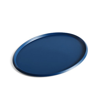 헤이 엘립스 트레이 HAY Ellipse Tray L Dark Blue