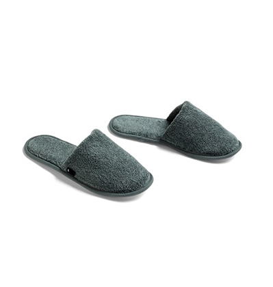 헤이 프로테 슬리퍼 HAY Frotte Slippers Dark Green