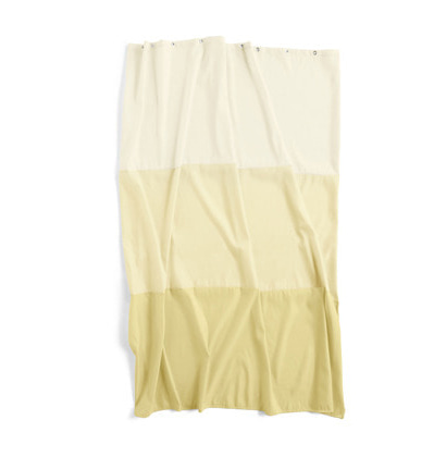 헤이 샤워커튼 욕실커튼 HAY Aquarelle Horizontal Buttercup Shower Curtain