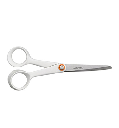 피스카스 가위 Fiskars Functional Form Universal Scissors 21cm White