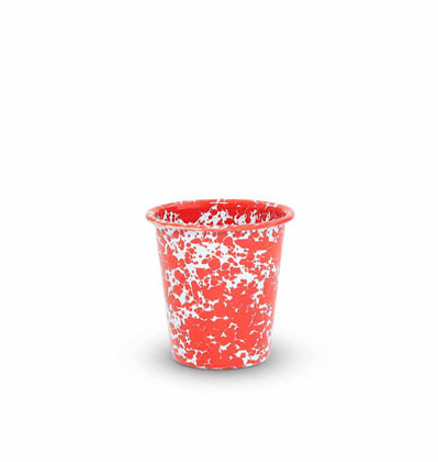 크로우캐년 쇼트 텀블러 레드 CrowCanyon Home Short Tumbler Red Marble