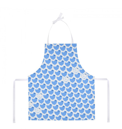 라꼬꼬뜨 파리 어린이 앞치마 La cocotte Child's Apron Blue minipoussin
