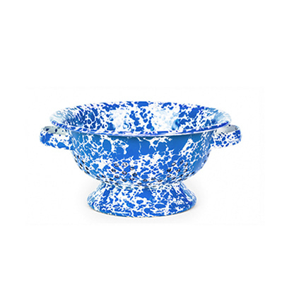 크로우캐년 콜랜더 채반 블루 CrowCanyon Home Berry Colander Blue Marble D62