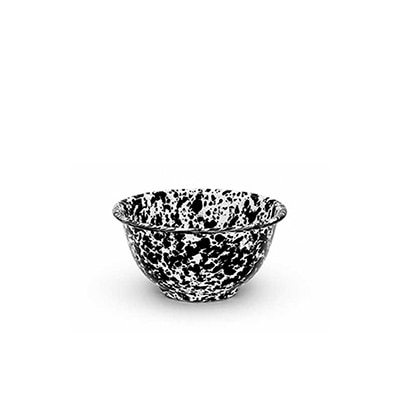 크로우캐년 요거트 보울 블랙 CrowCanyonHome Yogurt Bowl Black Marble