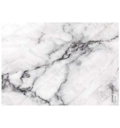 Marble Paper Placemat Square - Grey 20장