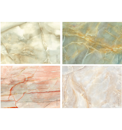 Marble Paper Placemat Square Mix